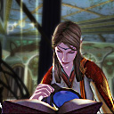 Profile photo of Ravanel Griffon showing her reading a book