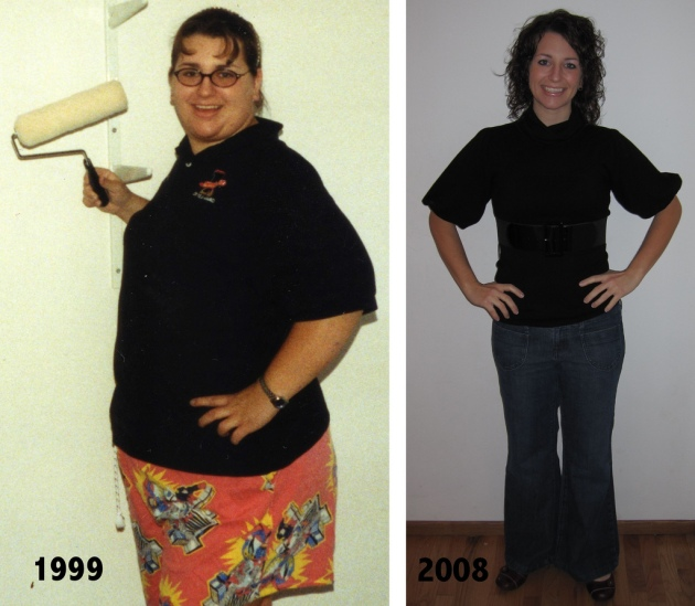100 pounds in 9 years