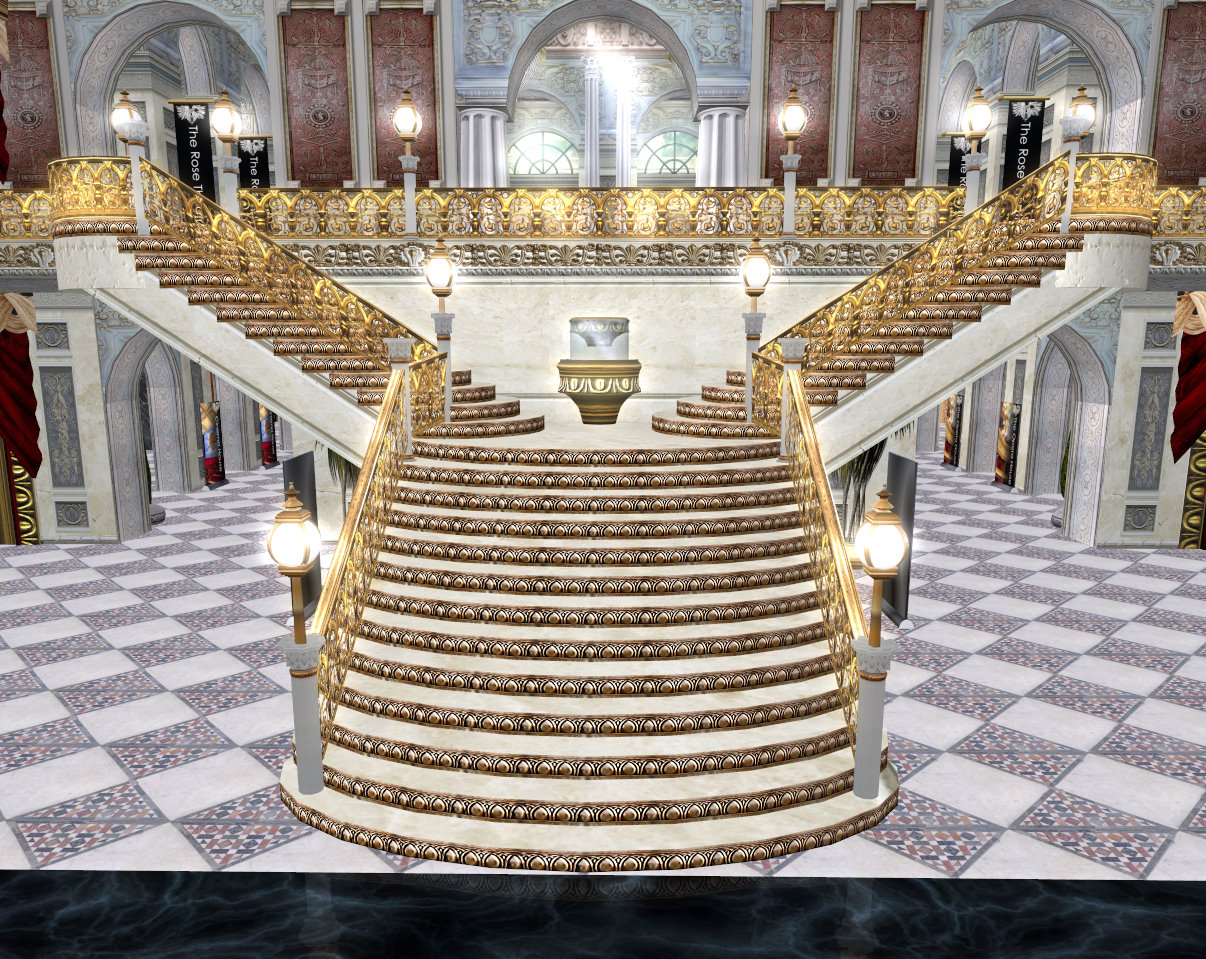 End of the year ball main thread for Grand staircase design