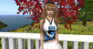 photo of Aero in SLHS uniform