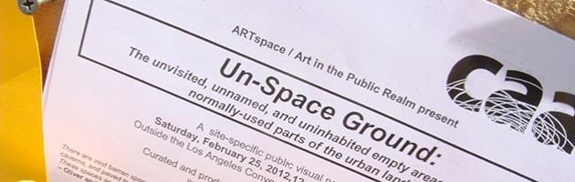 Un-Space Ground flier