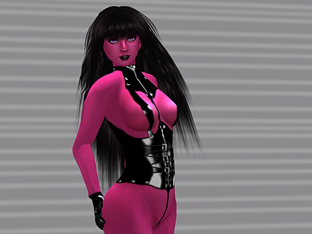 Liz Bowman in Pink Body Makeup (virtual skin)