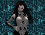 Liz Bowman in a Catsuit / Pressure Suit