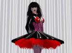 "Liz Bowman in Naucler Design ""Cecilia Dress"""