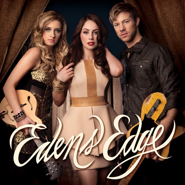 Cover image of Eden's Edge CD with Hannah Blaylock, Cherrill Green, Dean Berner