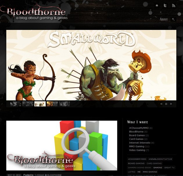 Bloodthorne, a blog about gaming and geeks