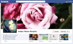 Screen Cap of Amber Moser Morphis Facebook Timeline Cover