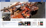 Screen Cap of Jonathan St Amant's Facebook Timeline Cover