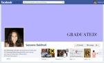 Screen Cap of Sanoera Bakhtali's Facebook Timeline Cover