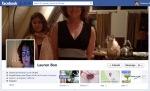 Screen Cap of Lauren Bon's Facebook Timeline Cover