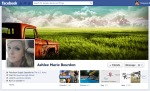 Screen Cap of Ashlee Marie Bourdon's Facebook Timeline Cover