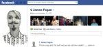 Screen Cap of C James Fagan's Facebook profile pix