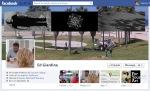 Screen Cap of Ed Giardina's Facebook Timeline Cover