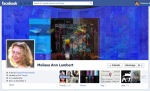 Screen Cap of Melissa Ann Lambert's Facebook Timeline Cover