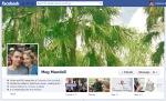 Screen Cap of Meg Mundell's Facebook Timeline Cover