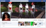 Screen Cap of Yordie Sands Facebook Timeline Cover