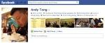 Screen Cap of Andy Tong's Facebook profile pix
