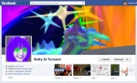 Screen Cap of Betty Tureaud's Facebook Timeline Cover