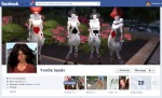 Screen Cap of Yordie Sands Facebook Timeline Cover
