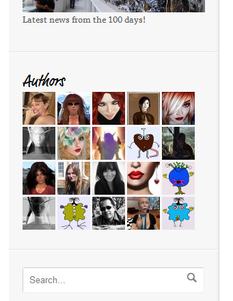 Screen Cap of WordPress Author Grid Widget
