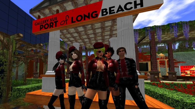 Photo of avatar teams preparing for VB41 - Rock the Casbah at Gallery Xue / Port of Long Beach