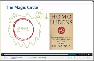 ScreenCap from Professor Kevin Werbach's Gamification lecture 2.1