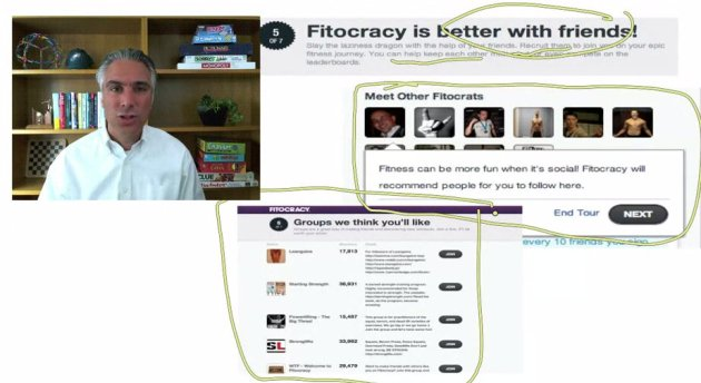 Fitocracy ScreenCap