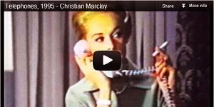 ScreenCap of Christian Marclay YouTube video
